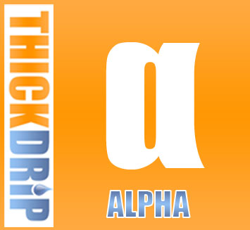 Alpha e liquid thickdrip