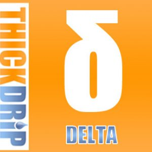 Delta e liquid by Thick Drip