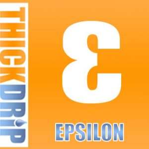 Epsilon e liquid by Thick Drip
