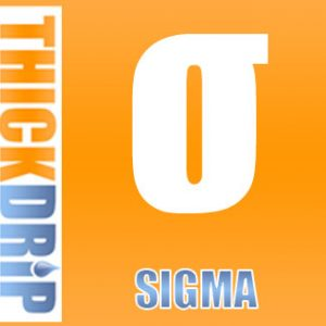 Sigma e liquid by Thick Drip