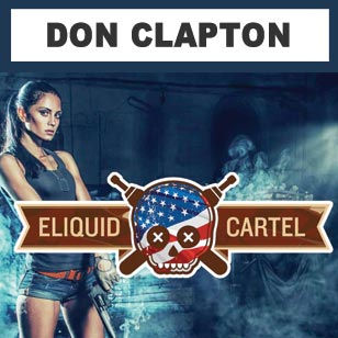 Eliquid Cartel DON CLAPTON